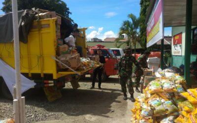 PT Batulicin Enam Sembilan Berbagi Salurkan Bantuan Sembako kepada Korban Kebakaran di Kotabaru